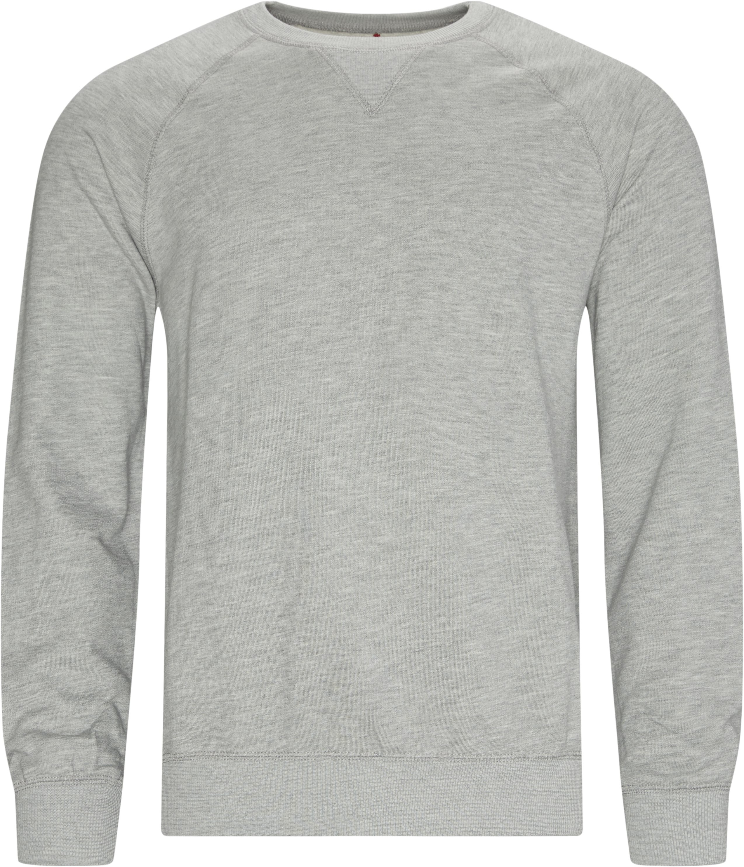 Rouen Crewneck Sweatshirt - Sweatshirts - Regular - Grey